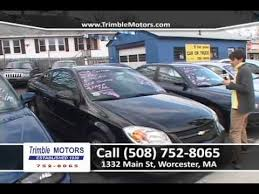 trimble motors car dealer tv worcester ma