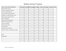 Doc.#585550: Weekly Report Format – Weekly Activity Report ...