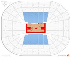 Kohl Center Seating Map Magnificent Kohl Center Hockey