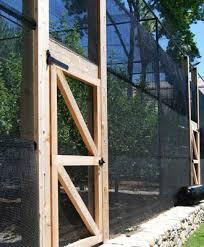 garden enclosure. Western Red Cedar And Wire Orchard Enclosure Garden