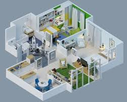 Small Picture 3D home design also with a floor plan software also with a home