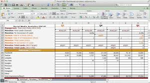 Excel Roi Template Social Media Roi Dashboard Excel Template Youtube