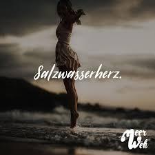 Visual Statements Salzwasserherz Sprüche Zitate