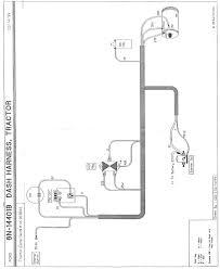 8n front mount wiring info original 6 volt