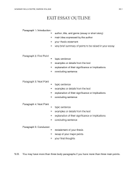 outline for paragraph essay nuvolexa example of an essay outline format hs3 simple 5 paragraph basic for thebridg outline for 5