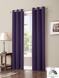 Jcpenney Curtains For Living Room Amazoncom Sun Zero Easton Blackout Energy Efficient Curtain