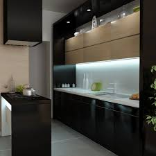 Simple Kitchen Island Kitchen Appliances Modern Minimalist Black Kitchen Design With
