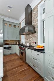 Painting Kitchen Backsplash Gray Shaker Kitchen Cabinets The Cabinets Are Painted Elk Horn