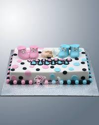 Designer Baby Shower Cakes Twins Baby Shower Ac373