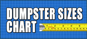 Dumpster Sizes Chart Dumpster Sizes And How Much They Hold
