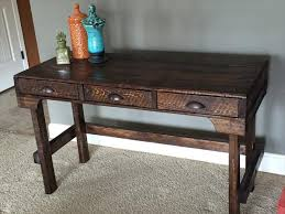 pallet furniture desk. DIY Pallet Desk With 3 Pee-Ka-Boo Drawers Furniture