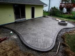 Stamped Concrete Patio Designs Home Design Gallery Ideas