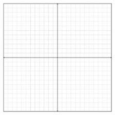 Static Cling Grid Coordinate Plane
