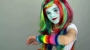 my little pony rainbow dash makeup tutorial equestria doll cosplay kittiesmama video dailymotion