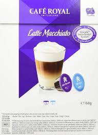 Café Royal Latte Macchiato 64 Kompatible Kapseln Für Nescafé Dolce Gusto 4er Pack 4 X 16 Kapseln