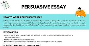 persuasive essay definition exles