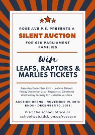 What Is Silent Auction Rose Avenue Junior Public School Silent Auction