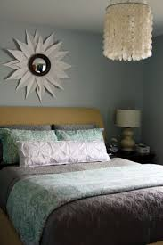 beautiful ikat bedding for modern bedroom decor stunning bedroom wall paint with capiz shell chandelier