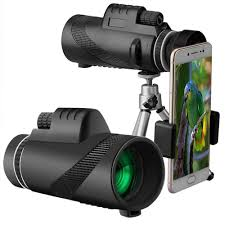 <b>40X60 HD</b> Monocular Day&amp;Night Vision Dual Focus Telescope ...