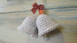 Crochet Decoration Patterns Crochet How To Crochet A Christmas Bell Decoration Youtube