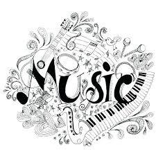 Music Coloring Page Anneliesedalabaorg