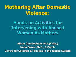 Ppt Mothering After Domestic Violence Powerpoint