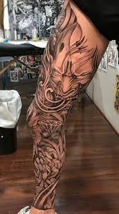 кдтёρσℓє тату япония нога идеи для татуировок самурайское