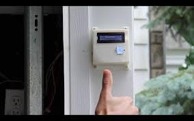 Garage Door diy garage door opener photos : DIY Fingerprint Scanning Garage Door Opener « Adafruit Industries ...
