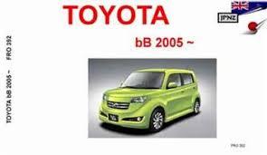 Toyota bB 2005 - On Owners Manual Engine Model: K3-VE, 3SZ-VE ...
