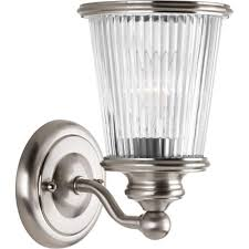 bathroom ceiling globes design ideas light: radiance collection  light brushed nickel vanity light