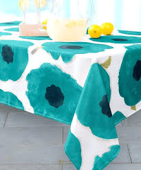 teal tablecloths mills teal spill proof indoor outdoor tablecloth teal round tablecloths