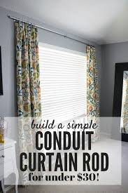 curtain rods are so expensive especially if you have large windows this post will