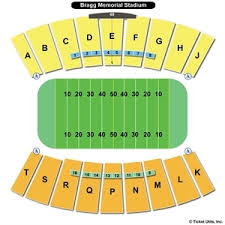 63 Particular Bragg Stadium Seating Chart