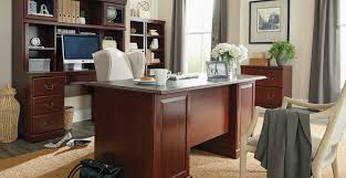 Office desk pictures Industrial Heritage Hill Flexsteel Heritage Hill Collection File Cabinet Home Office Desk With
