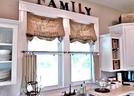 vintage kitchen window treatments. Unique Treatments Vintage Kitchen Interior Design Window Treatments Made Out Of Burlap Via  The Home Picz Inside Kitchen Window Treatments M