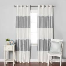 image of blackout curtains nursery
