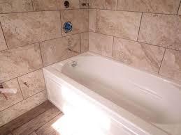 Bathroom Tub Wall Tile Designs Cool Tiling A Bathtub Amazing Tub Surround Tile Inspiring
