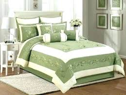 olive green bedding comforter sets serene on a budget in snazzy king size c