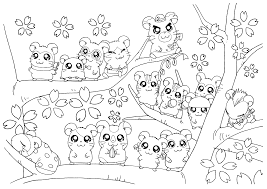 Small Picture Fancy Hamster Coloring Page 29 On Pages For Kids Online Best Of