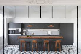 Tiled Kitchens 40 Gorgeous Grey Kitchens