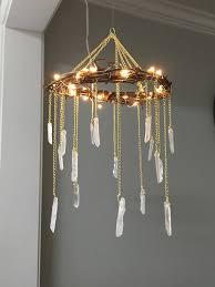 17 craft a bohemian rustic chandelier