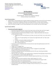 Community Outreach Specialist Sample Resume Interesting Community Outreach Coordinator Resume] 44 Images Community