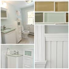 White Color Of Wall Paint Combined With Grey Also Vanity Granite Countertop  Mounted Washbasin In Modern ...