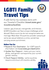 Gay safety international travel