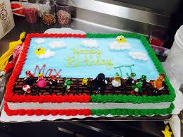 half sheet cake price walmart custom order mario bros cake mario cake luigi cake