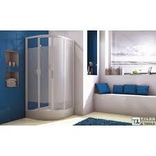 sliding doors for corner round shower tray 80 80