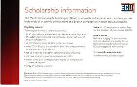 academic works ecu edith cowan university scholarships idp philippines