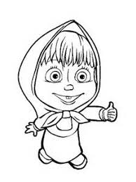 Small Picture Coloring Pages Pdf Printable Coloring Page 11 Masha And Bear