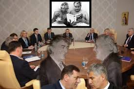 Image result for karikature tudjman, plenkovic, kolinda grabar i dragan covic