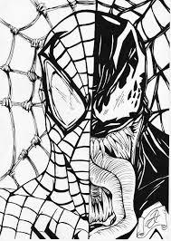 14 Spiderman Venom Coloring Pages, Printable Venom Coloring Pages ...